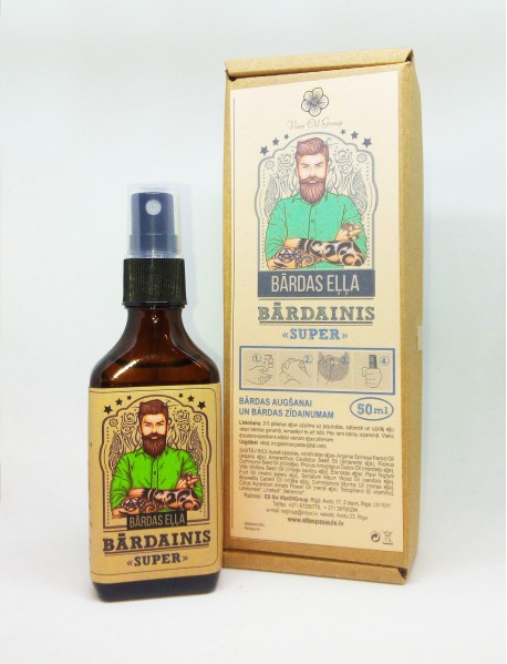 "Beard oil ""Bārdainis Super"""