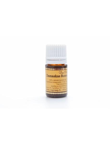 Domaska rose oil 20% in jojoba oil.