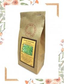 Hemp seed flour. Protein