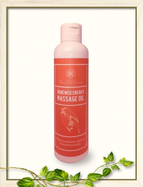 Massage oil  / Reneved energy oil / 200ml